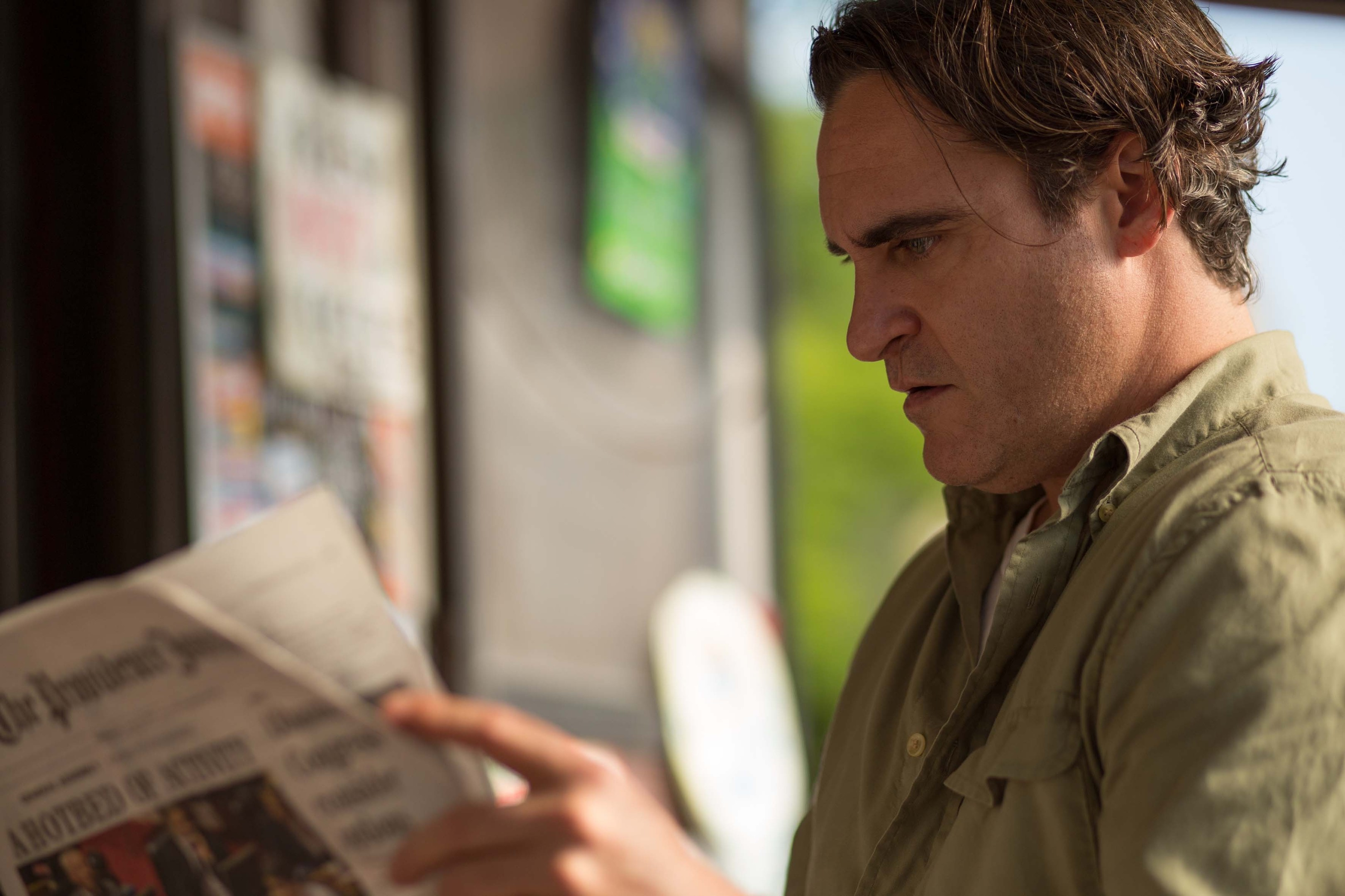 Joaquin Phoenix in Irrational Man.