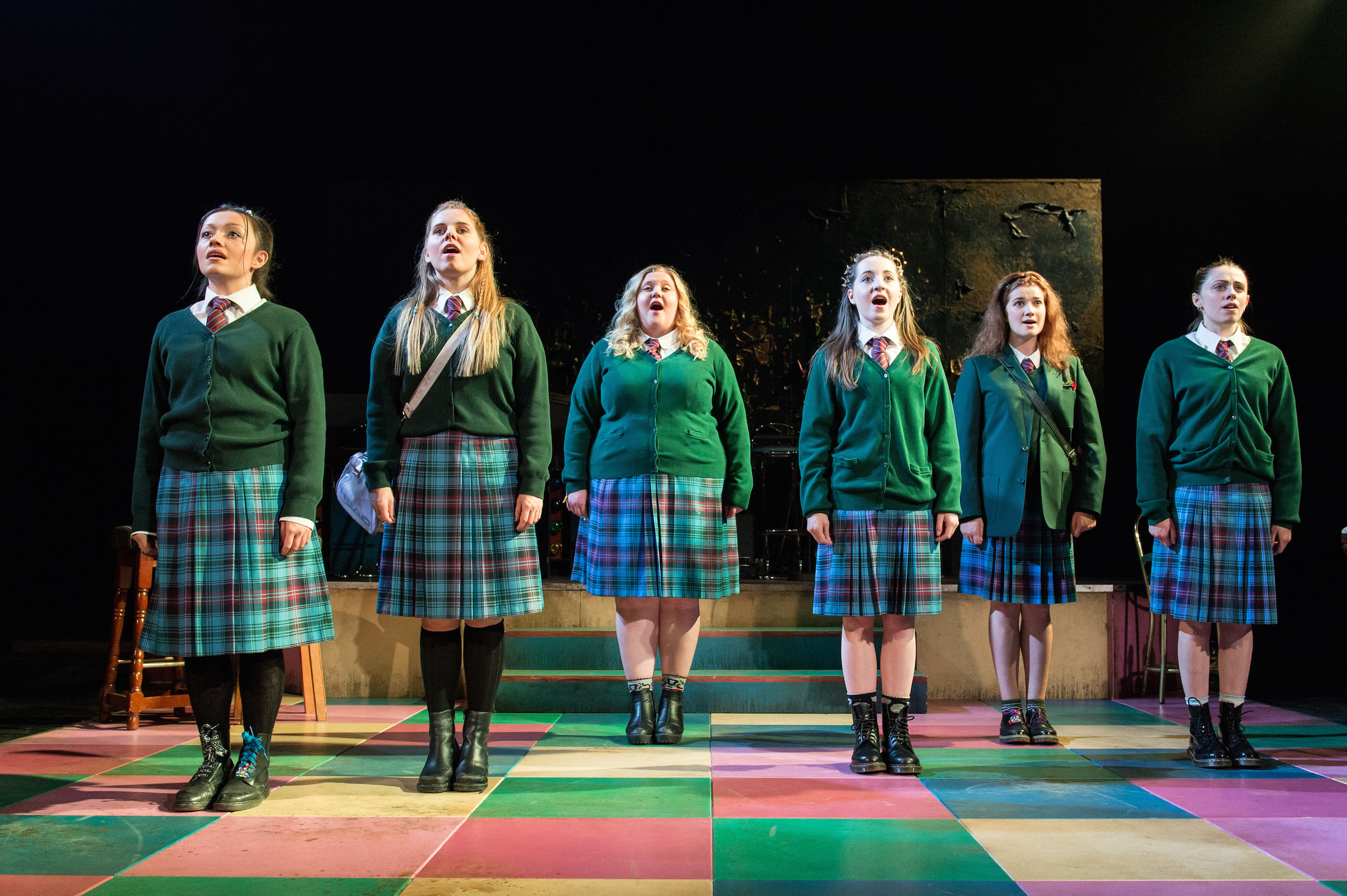 A scene from Our Ladies Of Perpetual Succour.