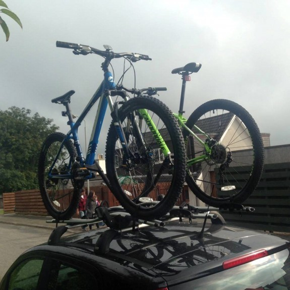 Police confirmed they are linking the thefts, which saw bikes, like these ones worth £3,000,  taken.