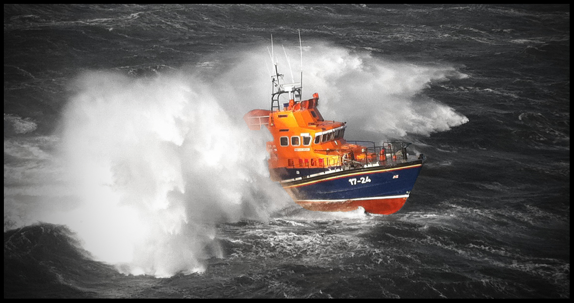 Aberdeen's all-weather lifeboat Bon Accord