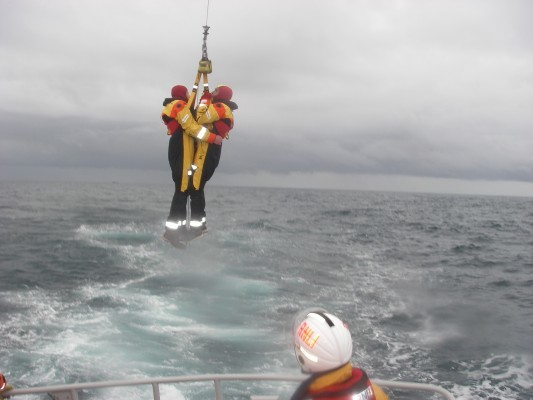 Rod helped rescue 14 people when a   helicopter ditched off Aberdeen's coast in 2012.