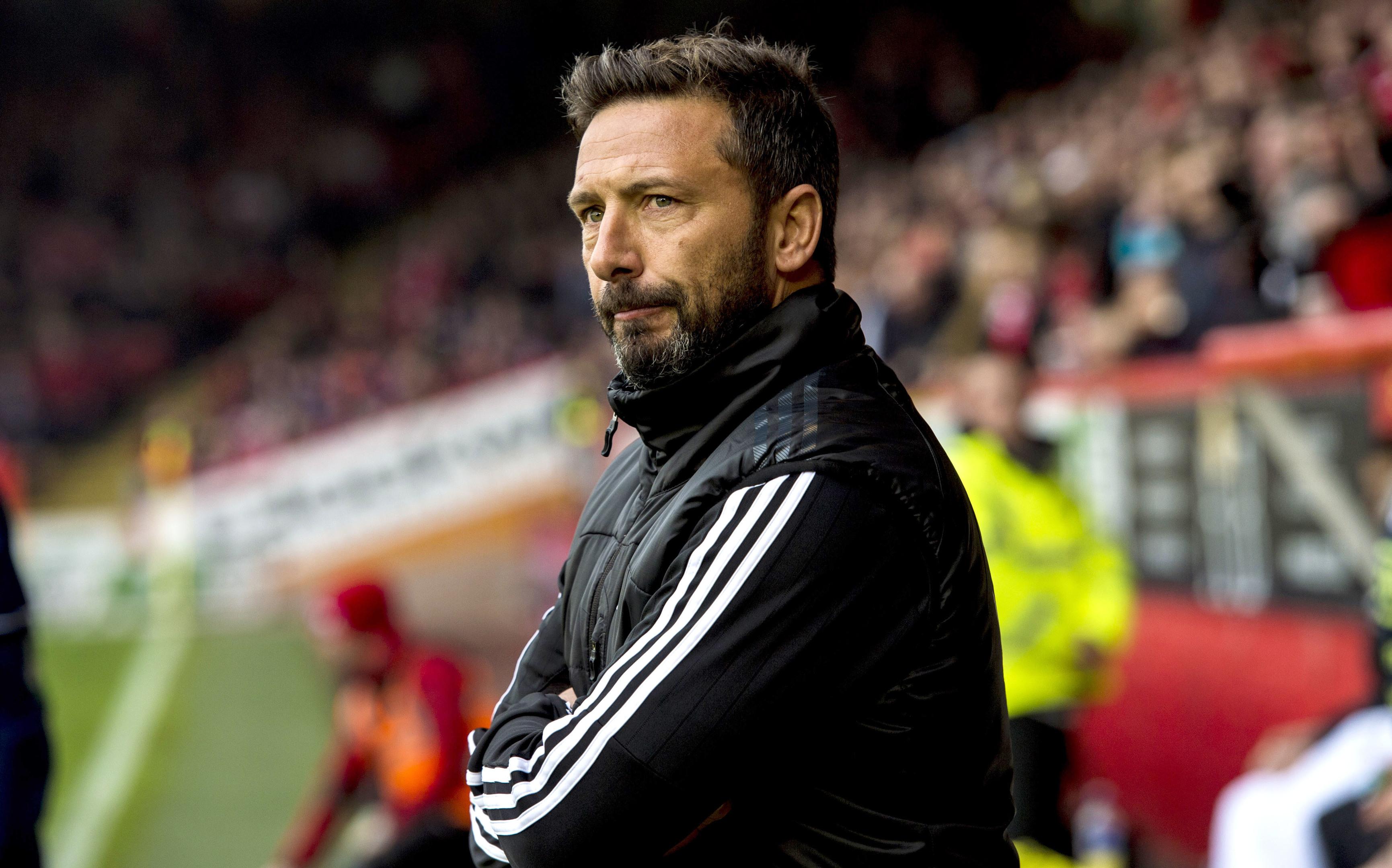 Dons manager Derek McInnes.