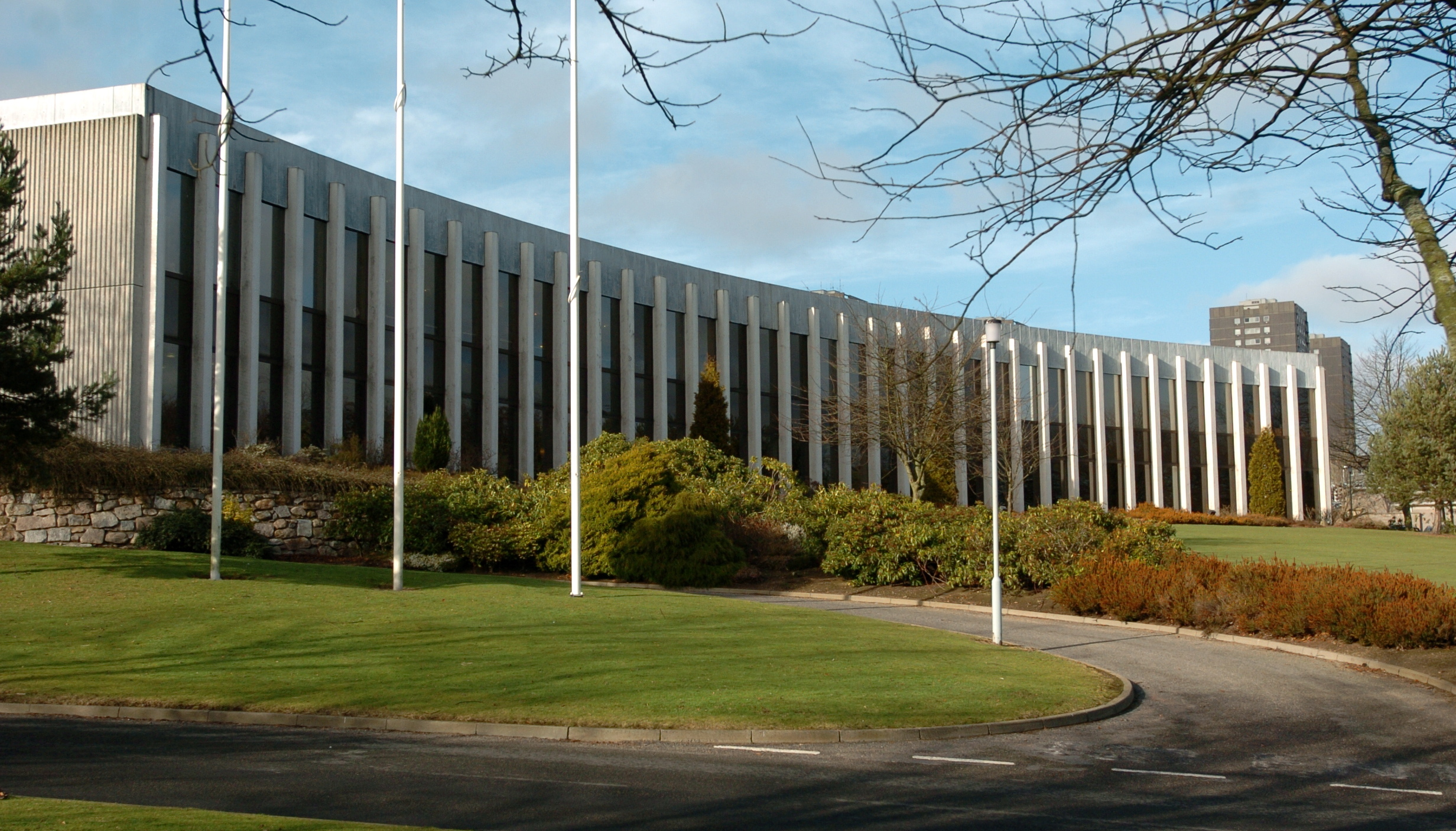 Woodhill House - Aberdeenshire Council's headquarters