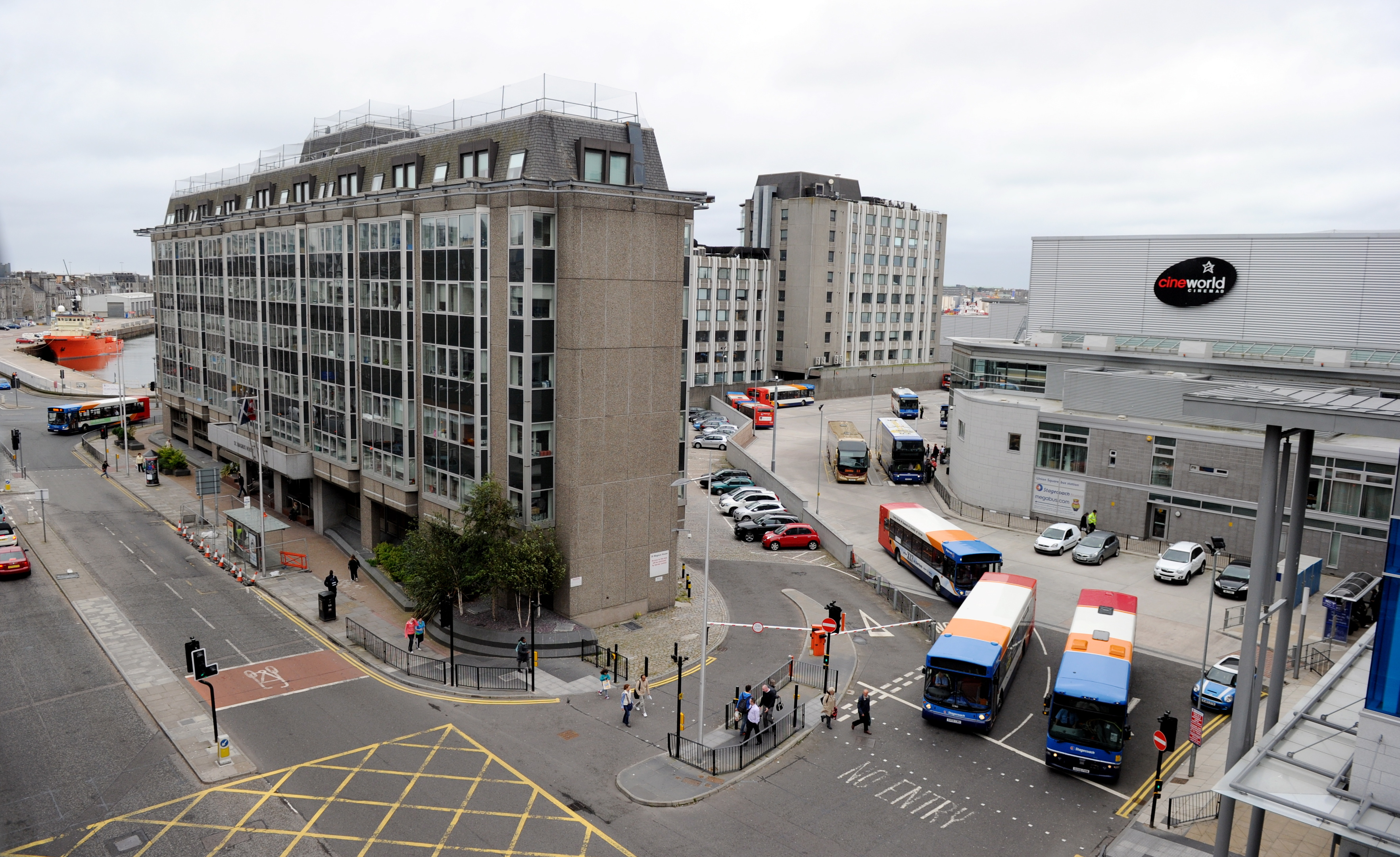 Stagecoach has asked  that traffic problems should be addressed as part of Union Square plans.