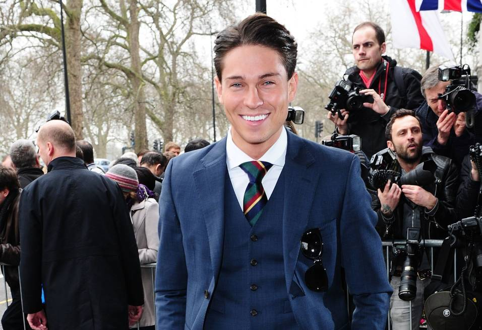 Joey Essex attending the TRIC Awards at the Grosvenor House Hotel in London.