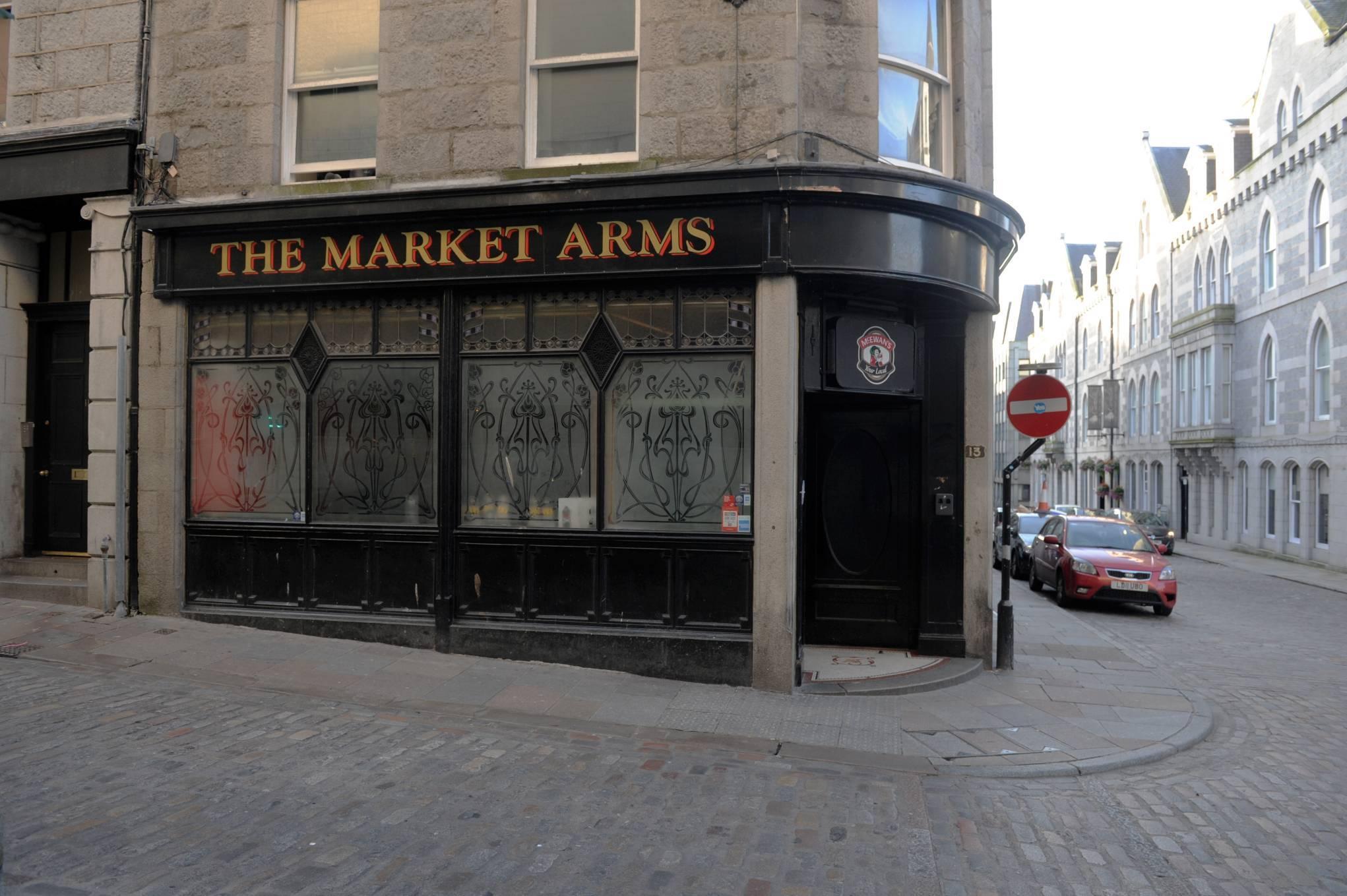 The Market Arms on Hadden Street.
