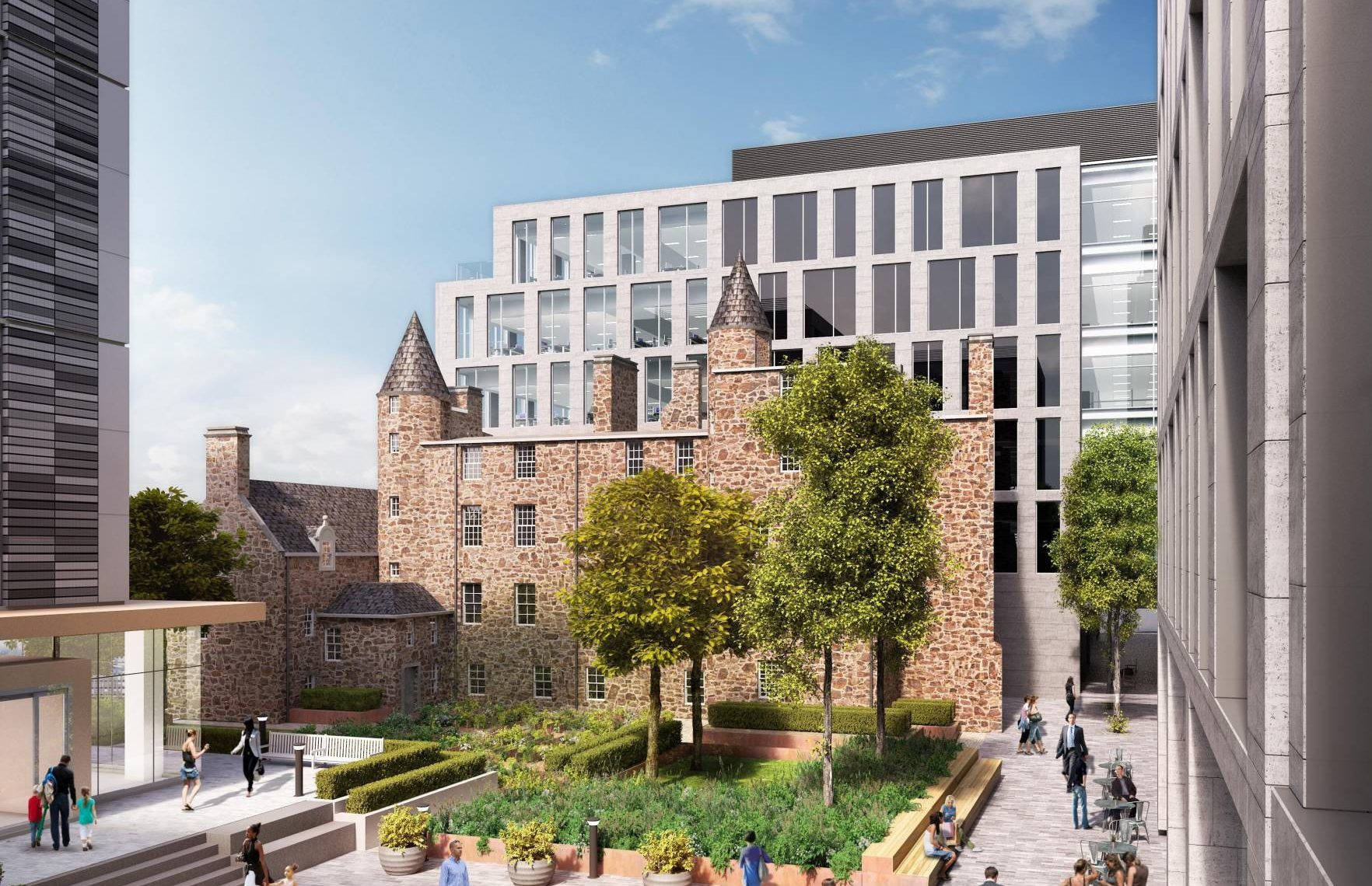 How Provost Skene house will look.