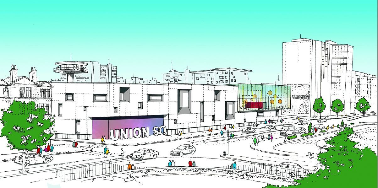Option one of the proposed Union Square plans.