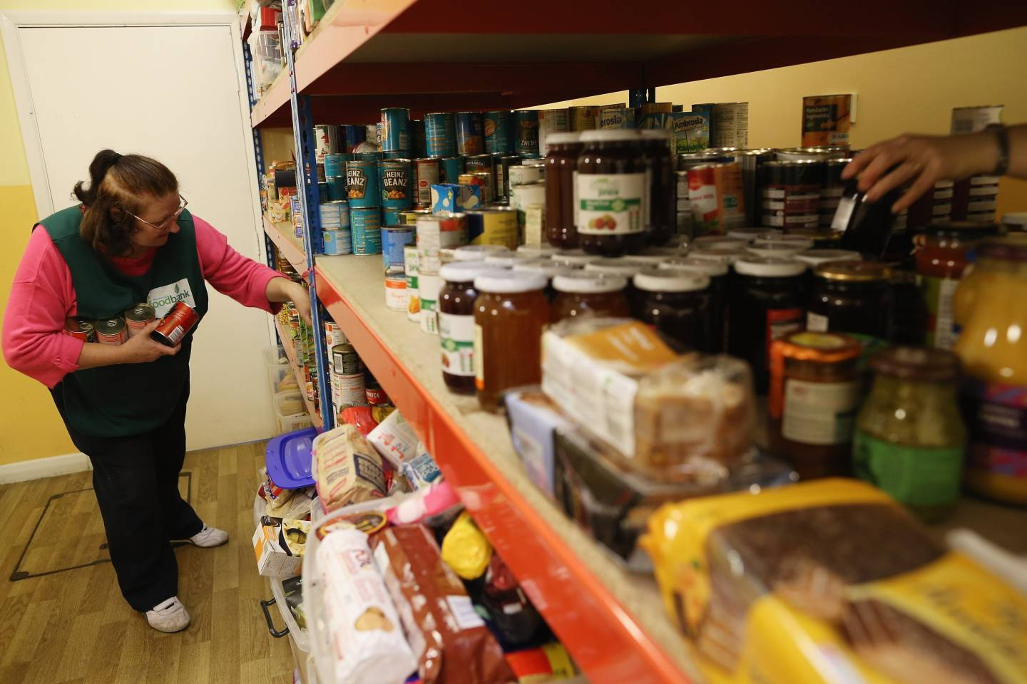 At least 418 tonnes of food has been handed out by food banks across the North-east.