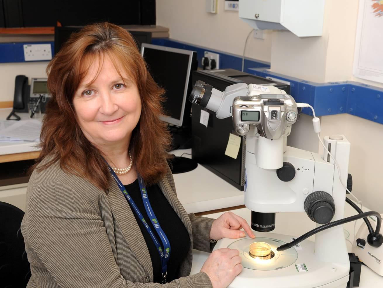 Soil expert Professor Lorna Dawson
