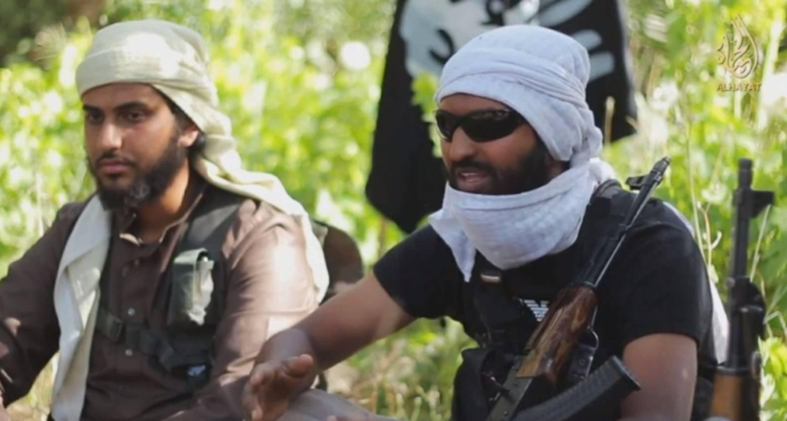 Ruhul, right, also known as Abdul Raqib Amin, was killed in by Syria by a RAF drone strike.
