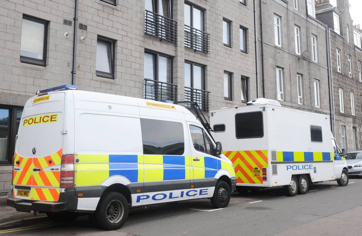 A murder investigation has been launched a man was found dead in Aberdeen