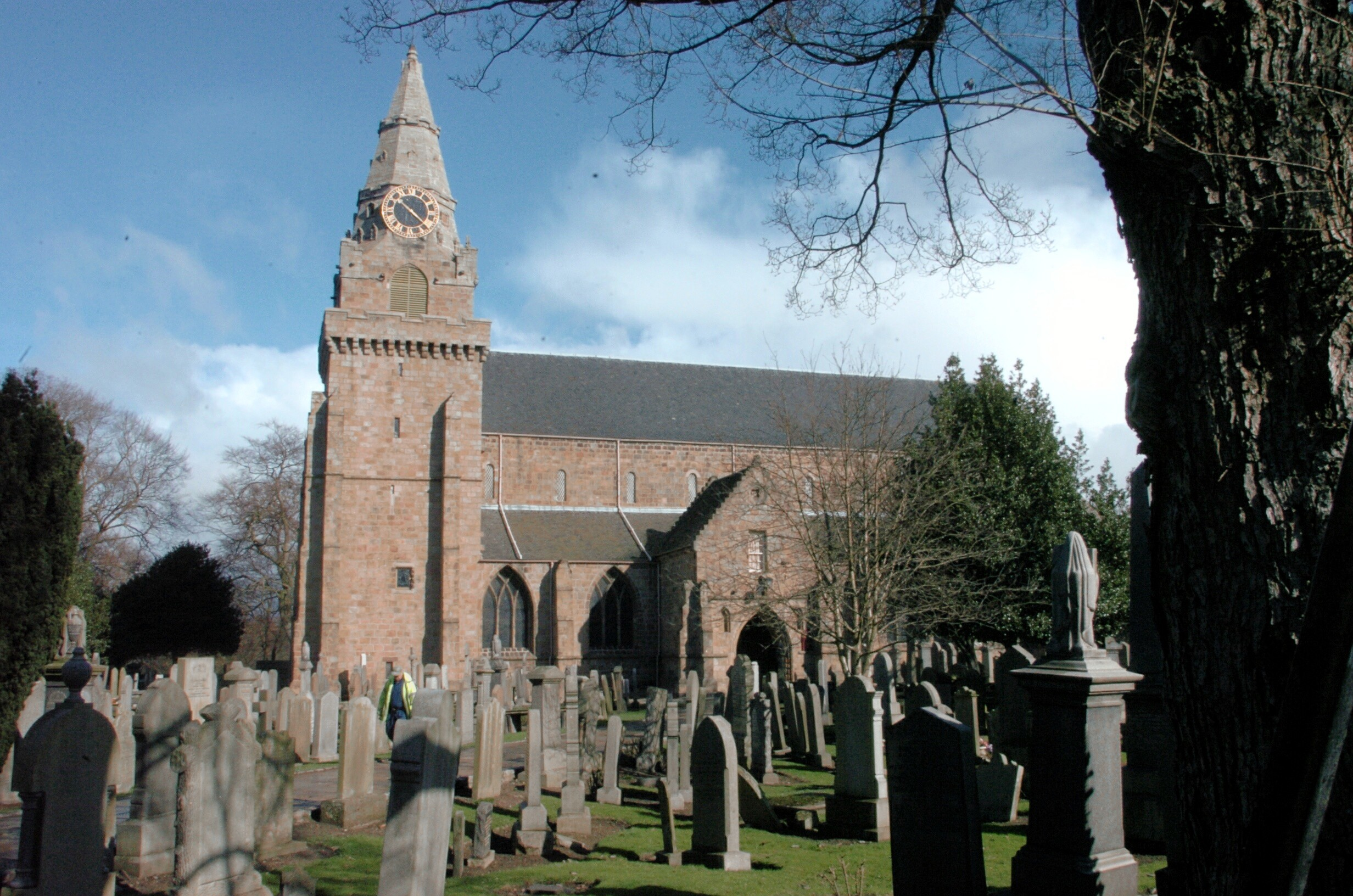 St Machar's Cathedral.