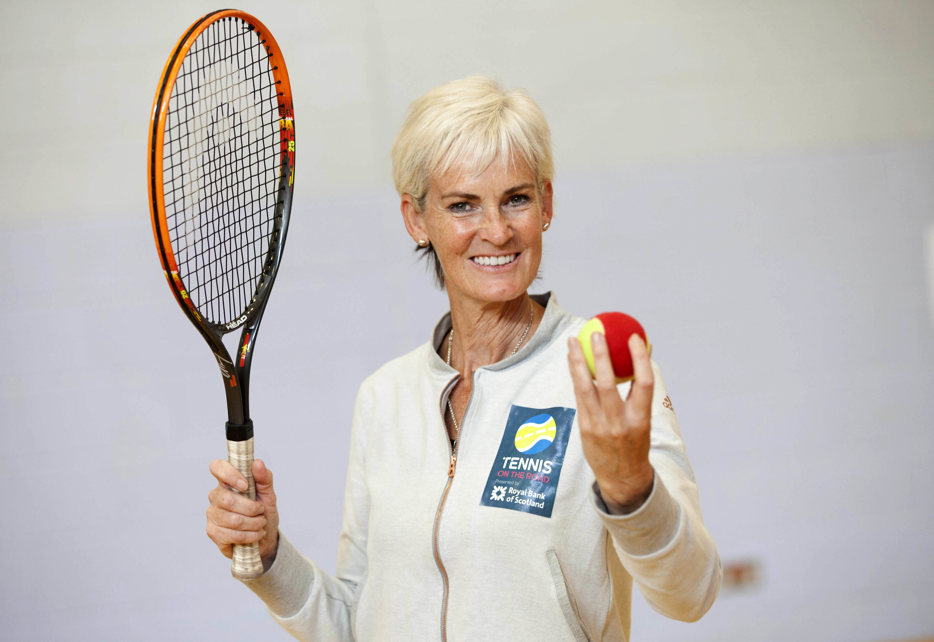 Judy Murray will be in Aberdeen for the Tennis on the Road tour.