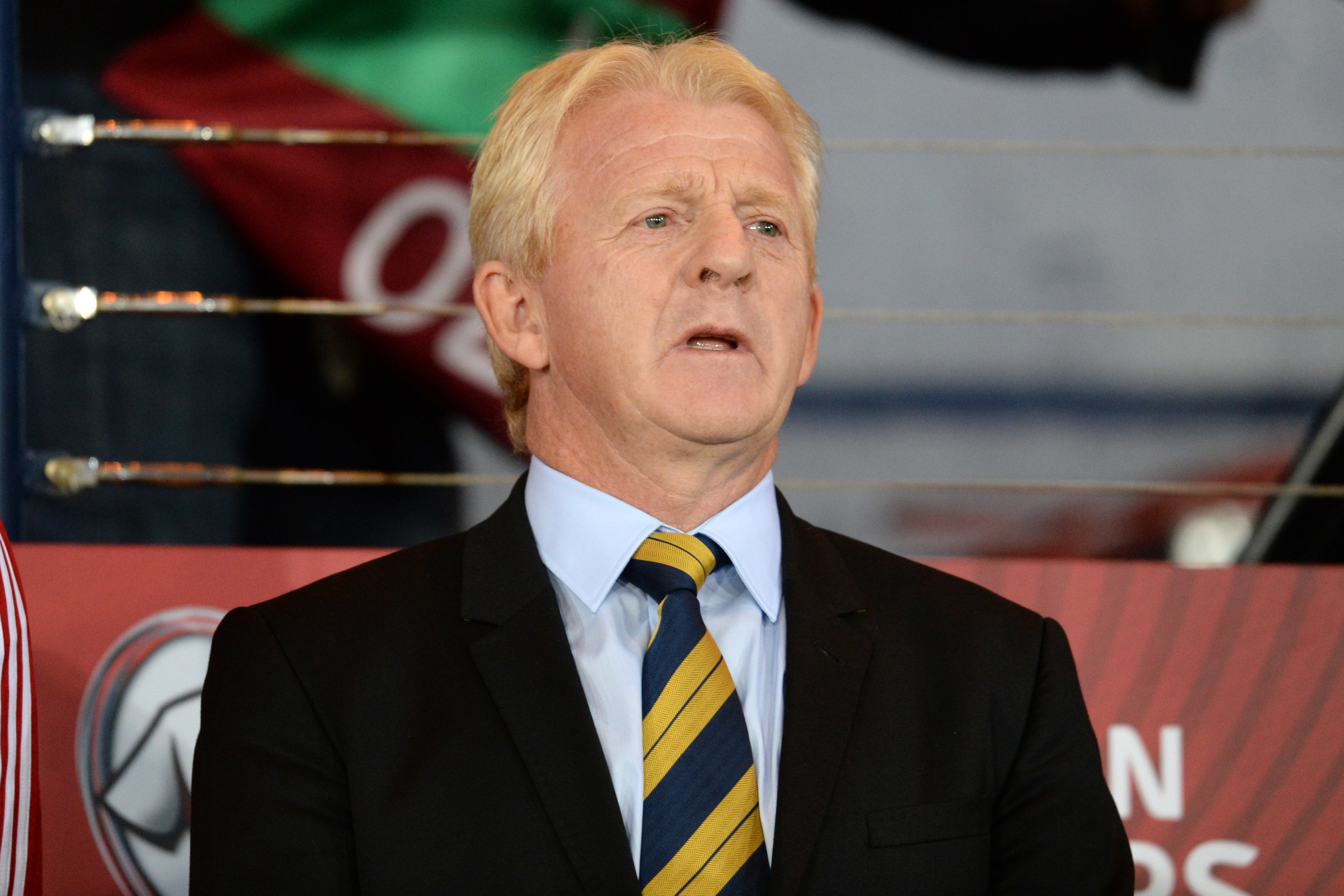 Gordon Strachan was disappointed for his players.