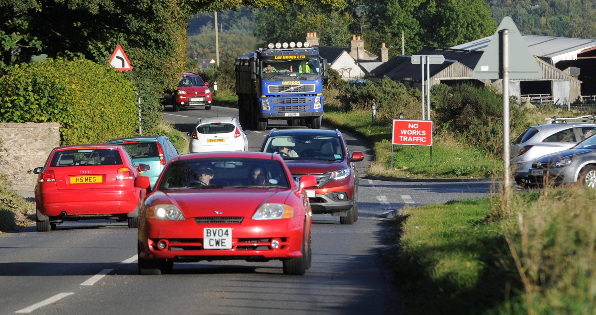 Kepplehills Road near Bucksburn is a popular rat run for commuters.