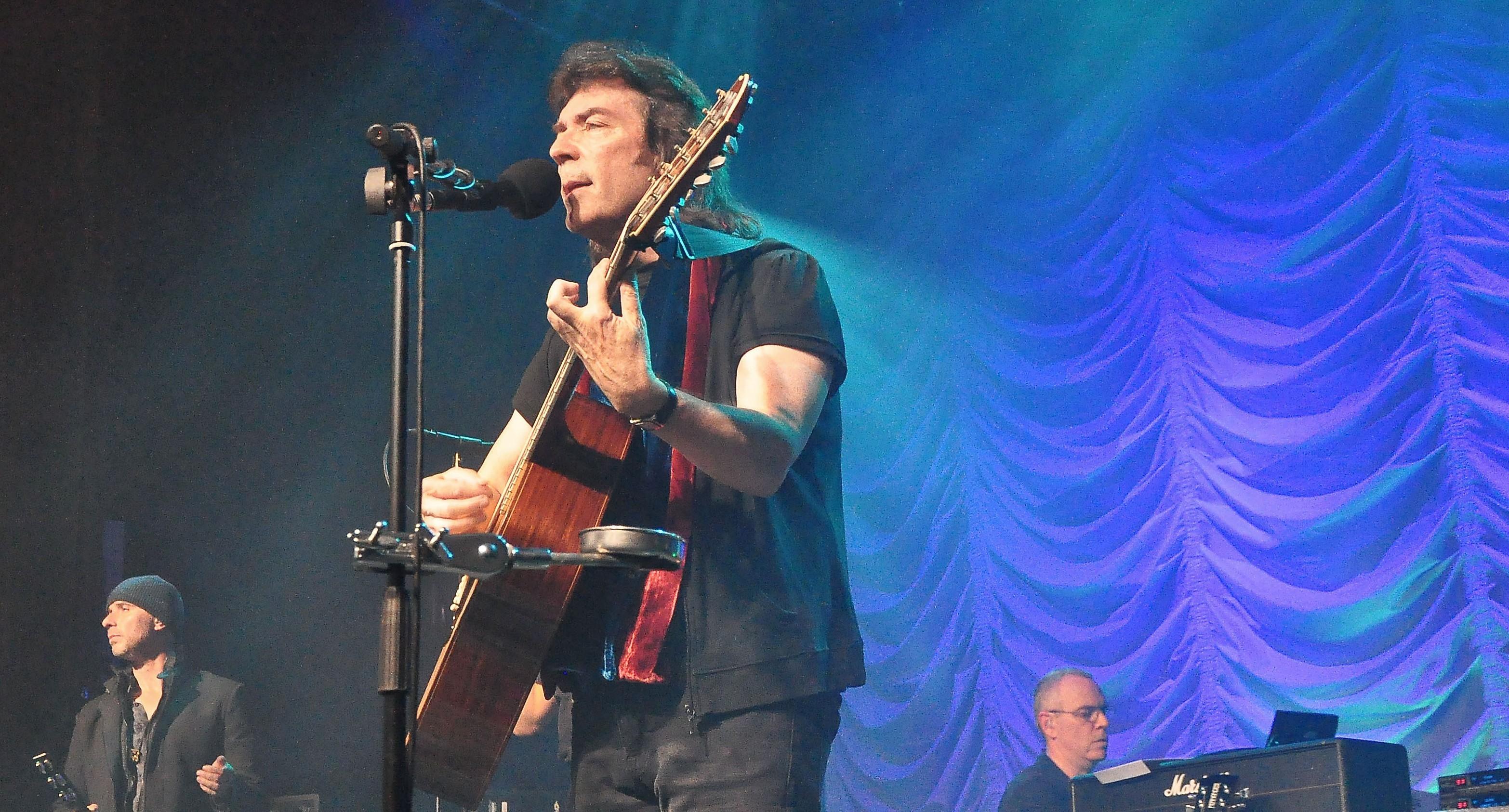 Former Genesis guitarist Steve Hackett is to play Aberdeen's Music Hall tonight