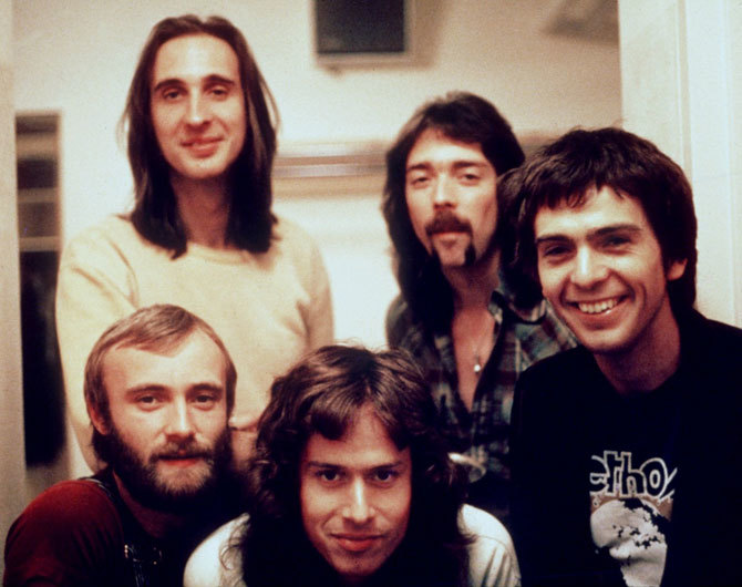 Genesis pictured in their heyday.
