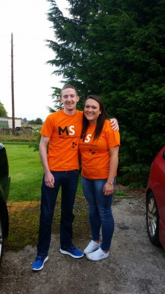 Derrick Poole and Stacey Gillies are to take part in a skydive.