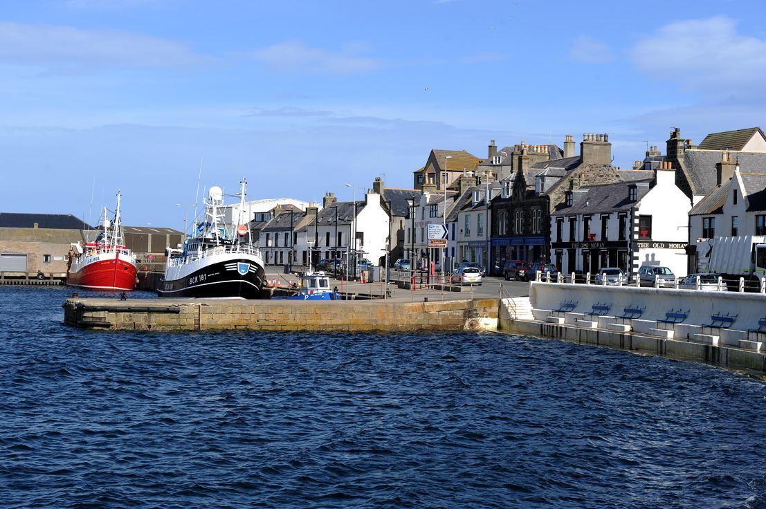 Macduff Harbour.