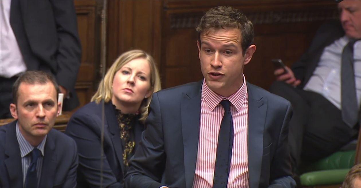 Callum McCaig questions David Cameron today