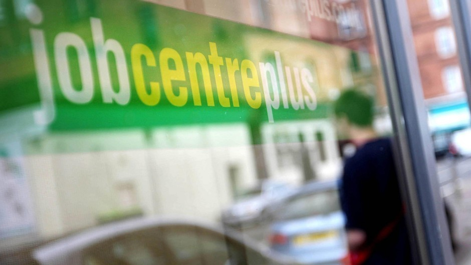 The number of people claiming unemployment benefits has increased