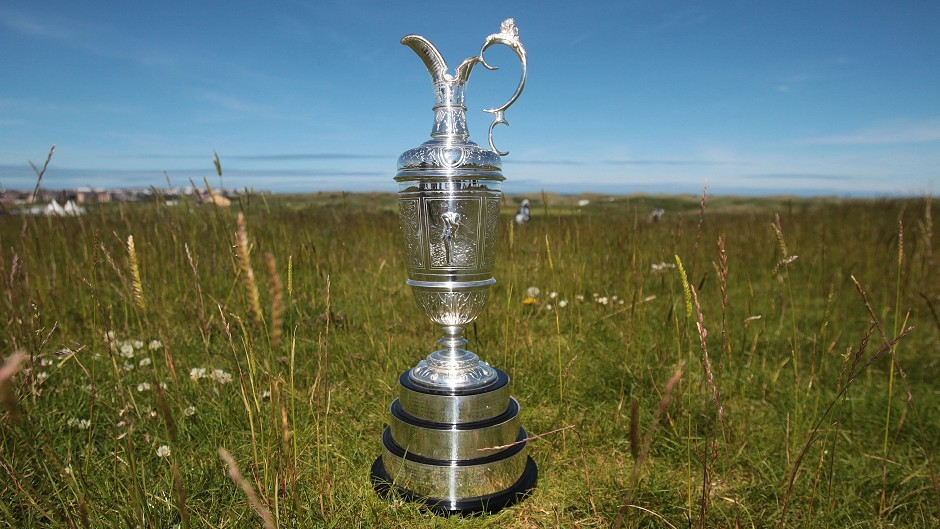 The Claret Jug, awarded to the Open champion.