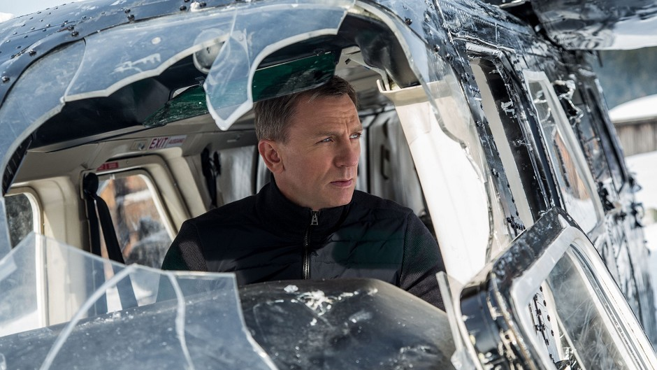 Daniel Craig as 007 in new James Bond film Spectre