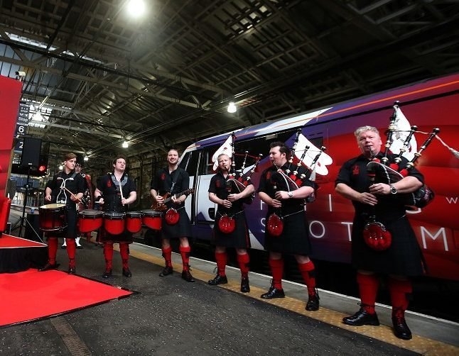 The Red Hot Chilli Pipers will mark a milestone in the North-east