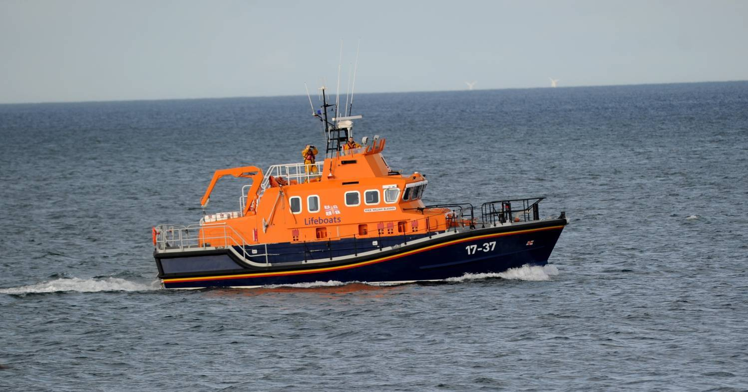 The Buckie Lifeboat