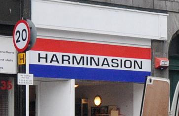 Harminasion shop on King Street in Aberdeen