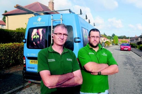 Richard Whyte and Graham Green of Whytestar and Greenstar.