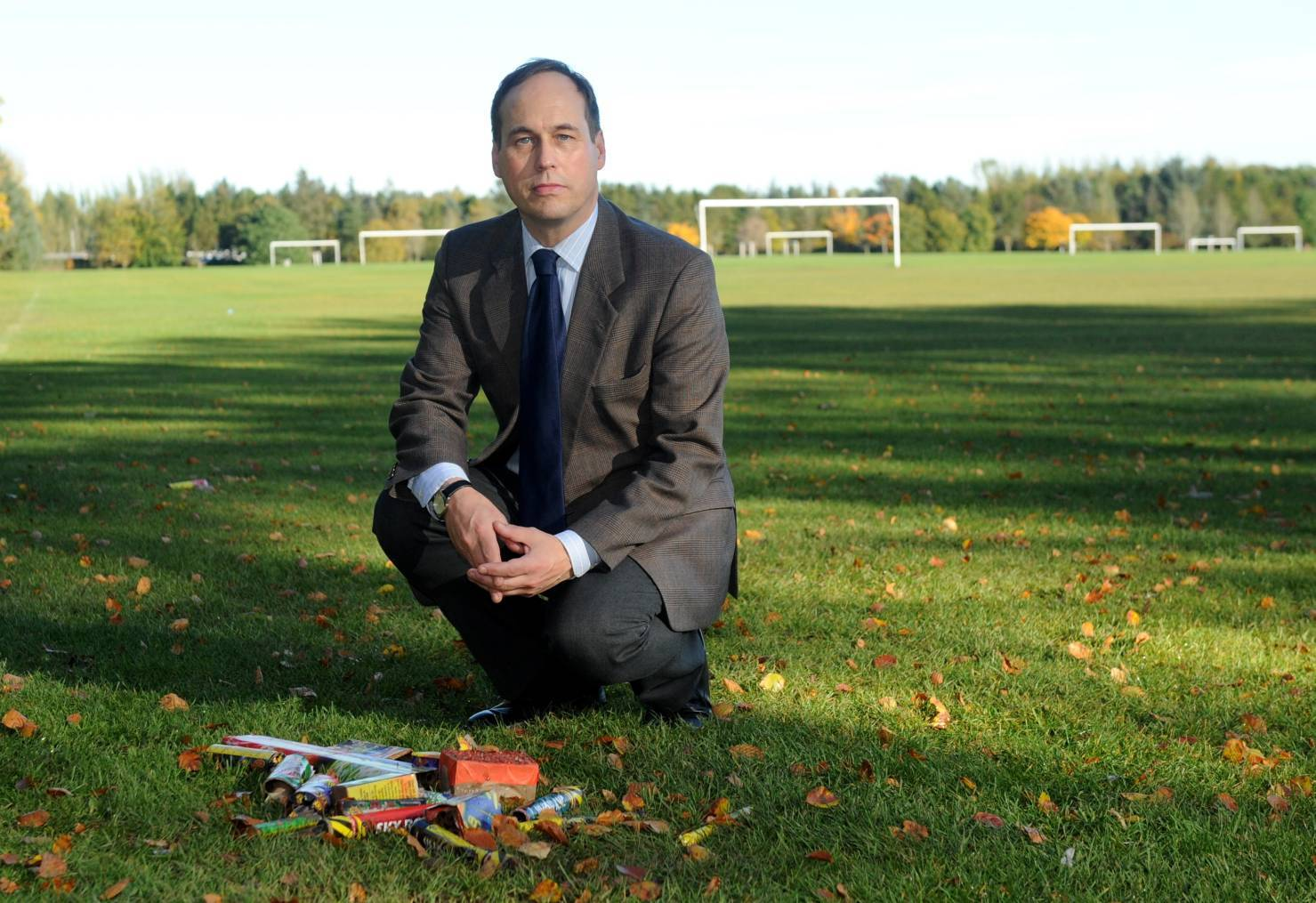 Cllr Martin Greig has asked for an end to Hazlehead Park littering.