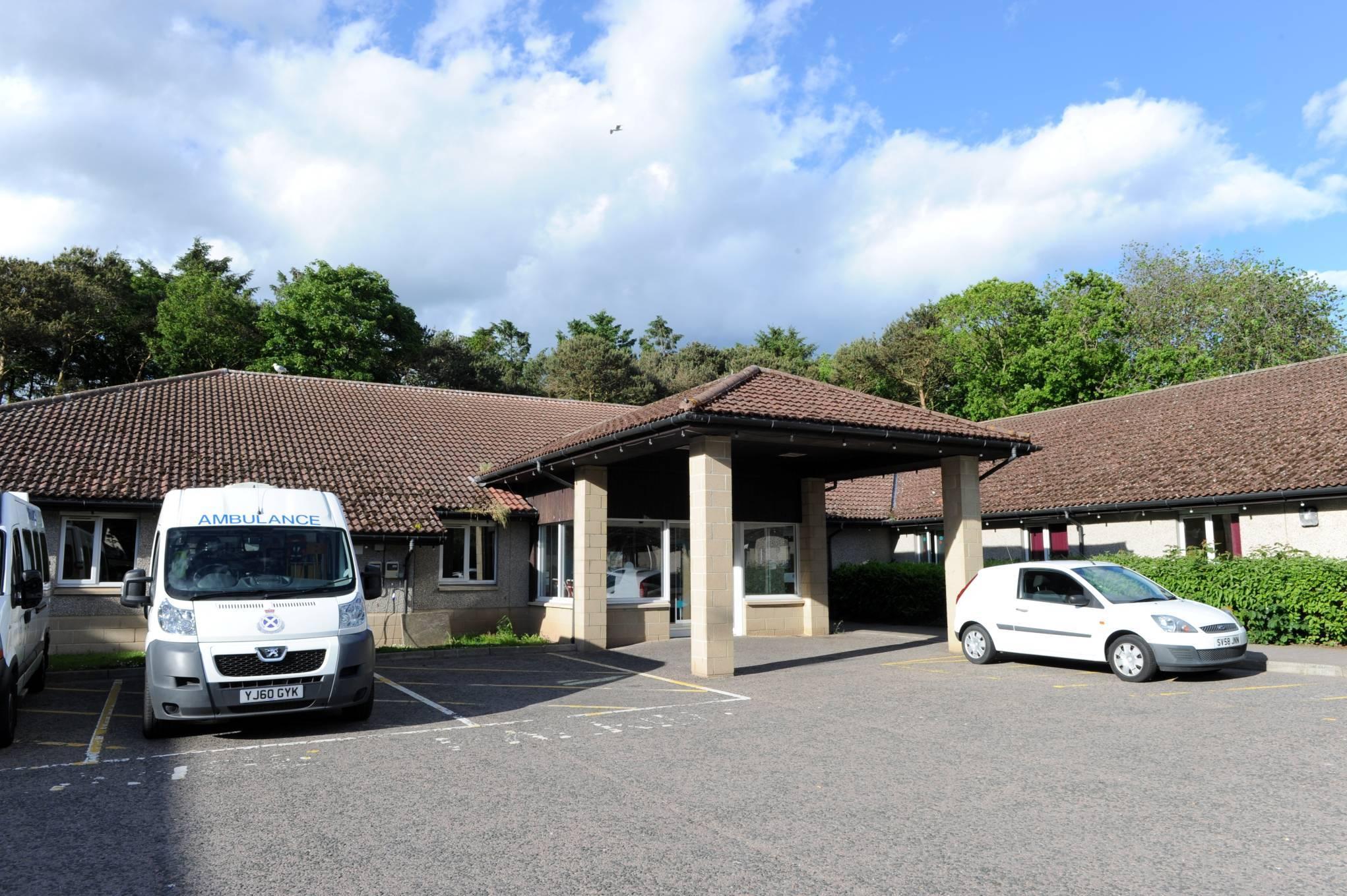 Kincardine Community Hospital in Stonehaven.