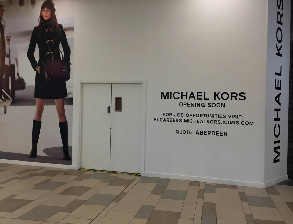 Michael Kors in Union Square