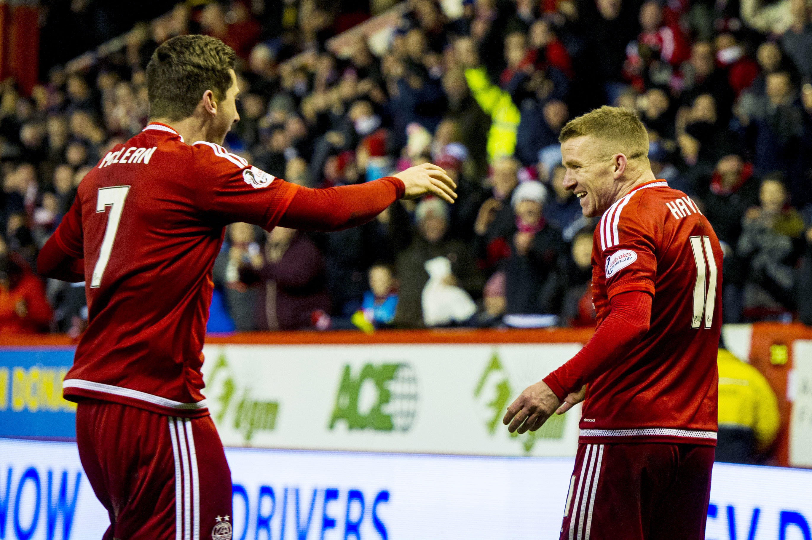 Kenny McLean and Jonny Hayes are just two of the four Dons to be picked.