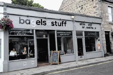 ROUND HERE: Bagels & Stuff, Thistle Street, Aberdeen.