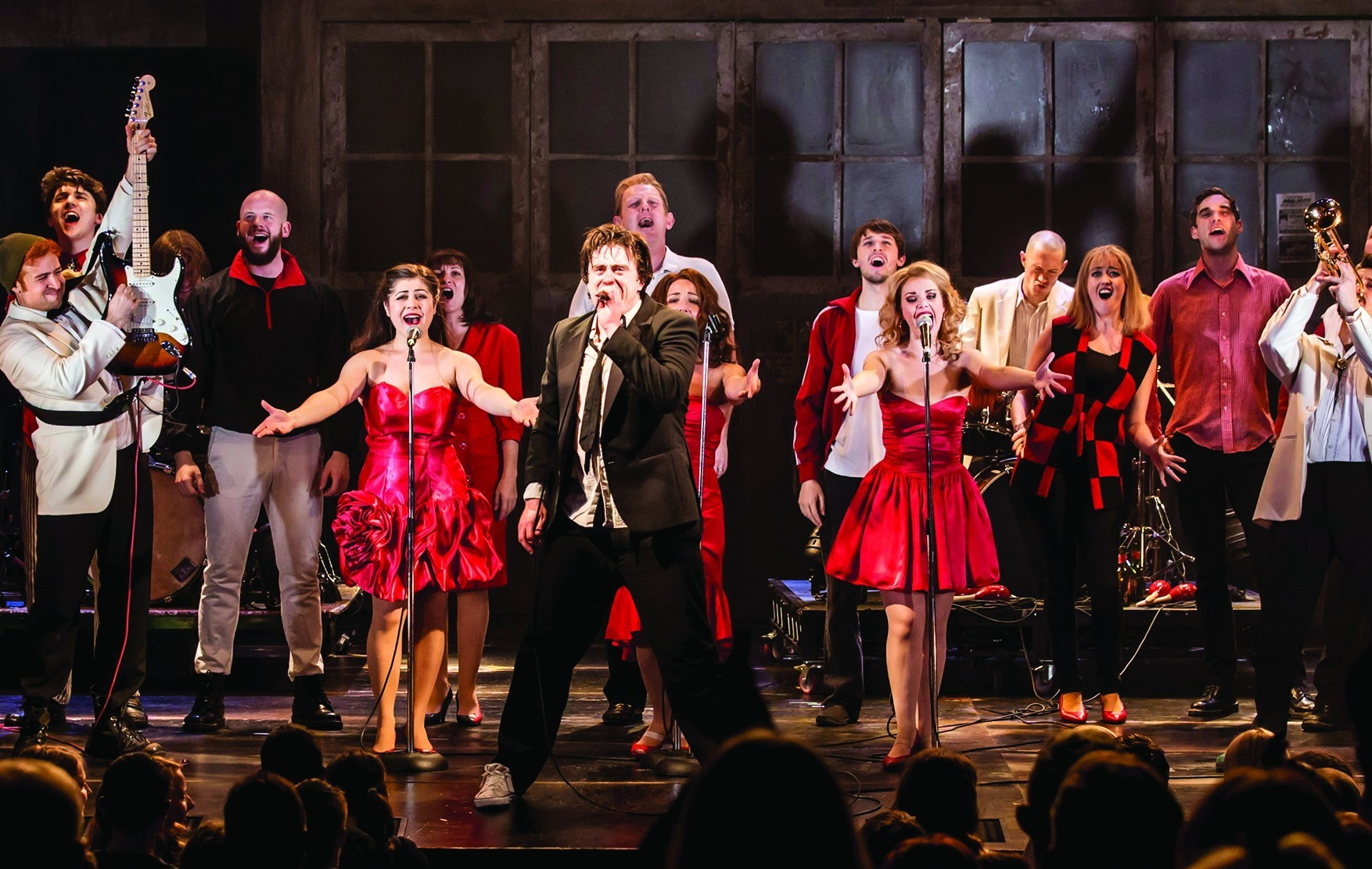 The Commitments is based around a struggling band in Ireland.