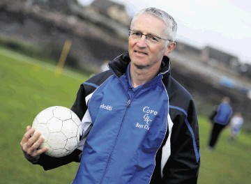 Cove Youth Football Club chairman Donald Smith hopes the US ban will not come to the UK.
