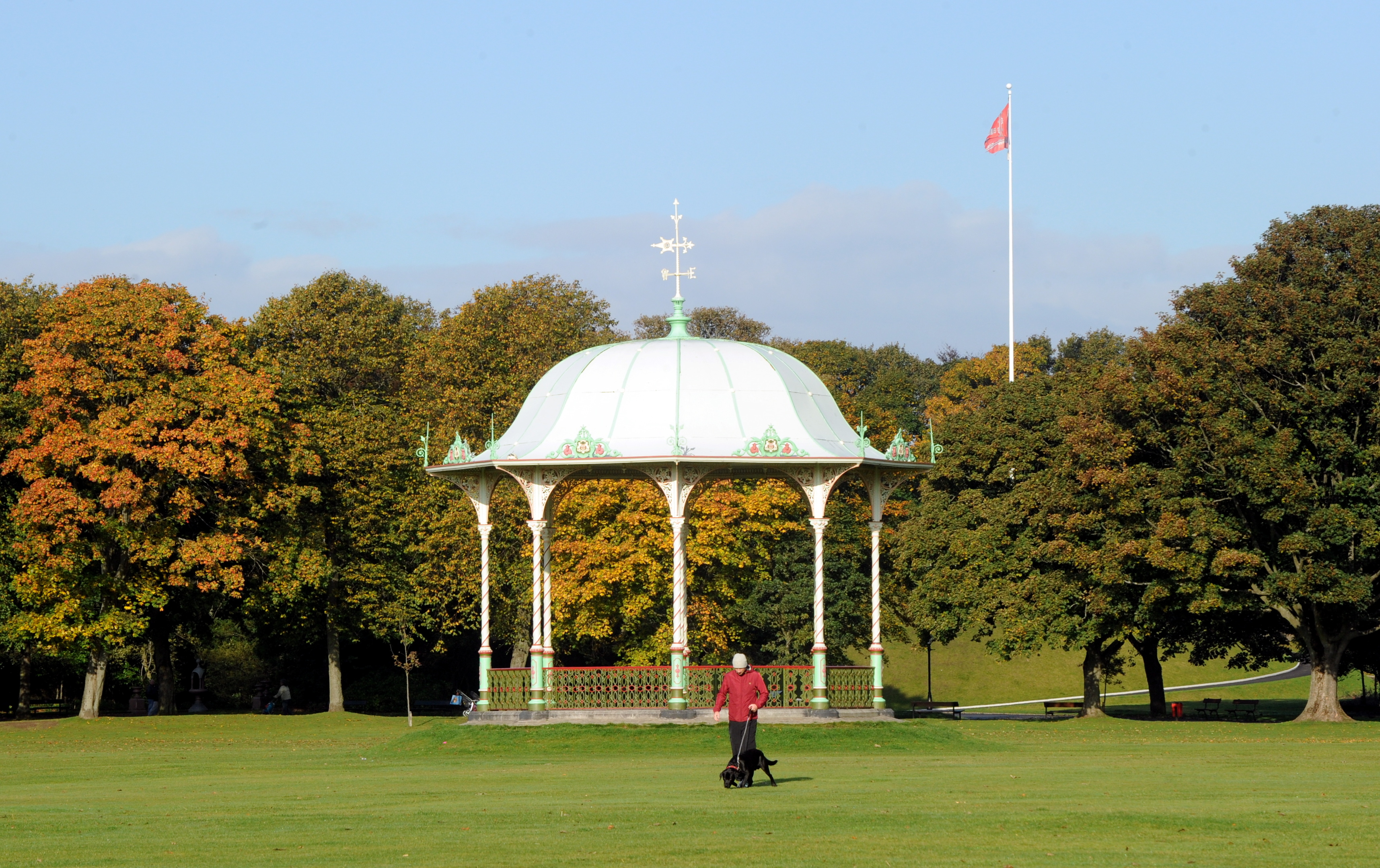 Attraction:  A funding boost has seen Duthie Park restored to its former glory.