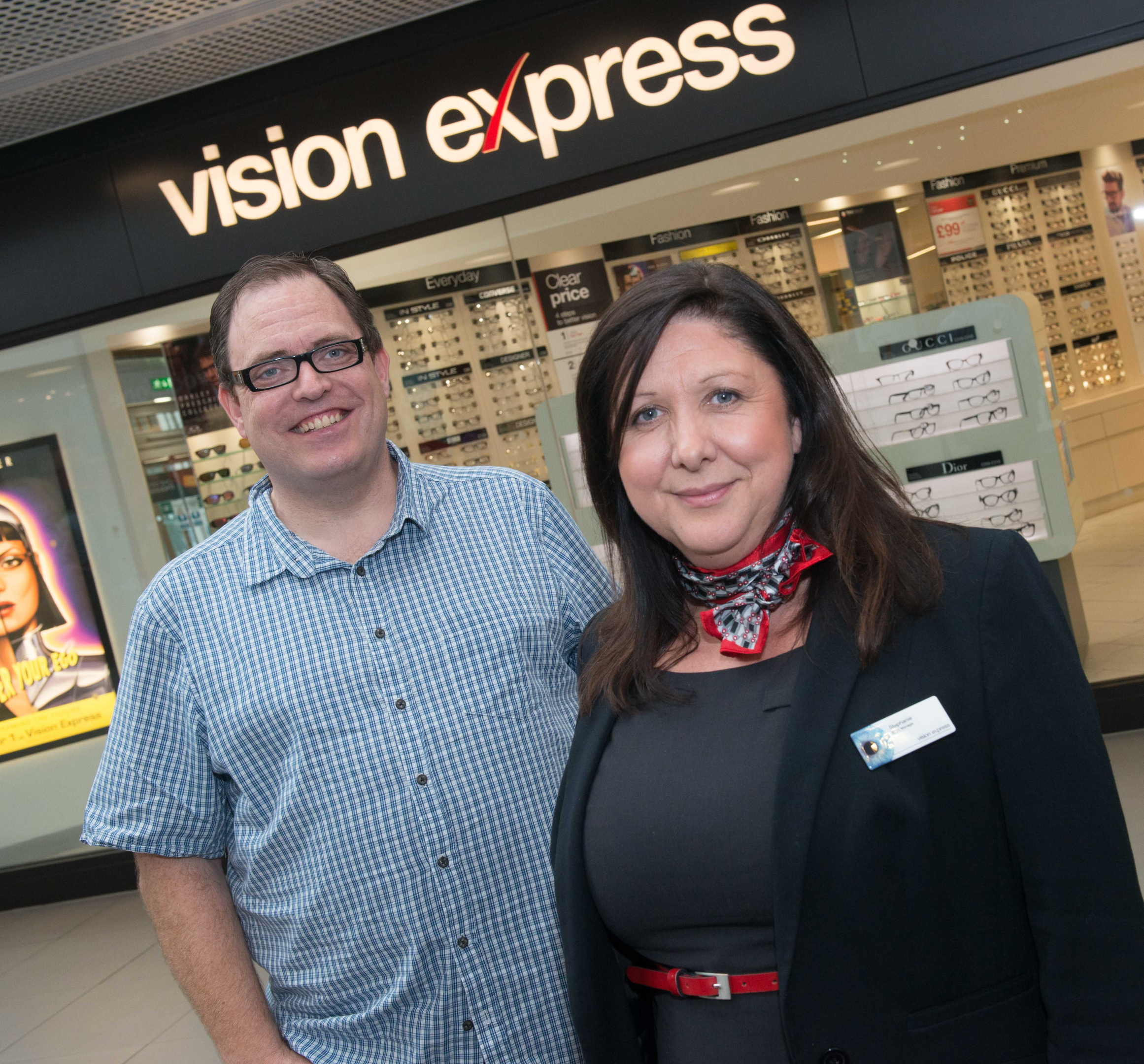 Alun Williams is backing the campaign to have vision checks after he overcame sight problems.