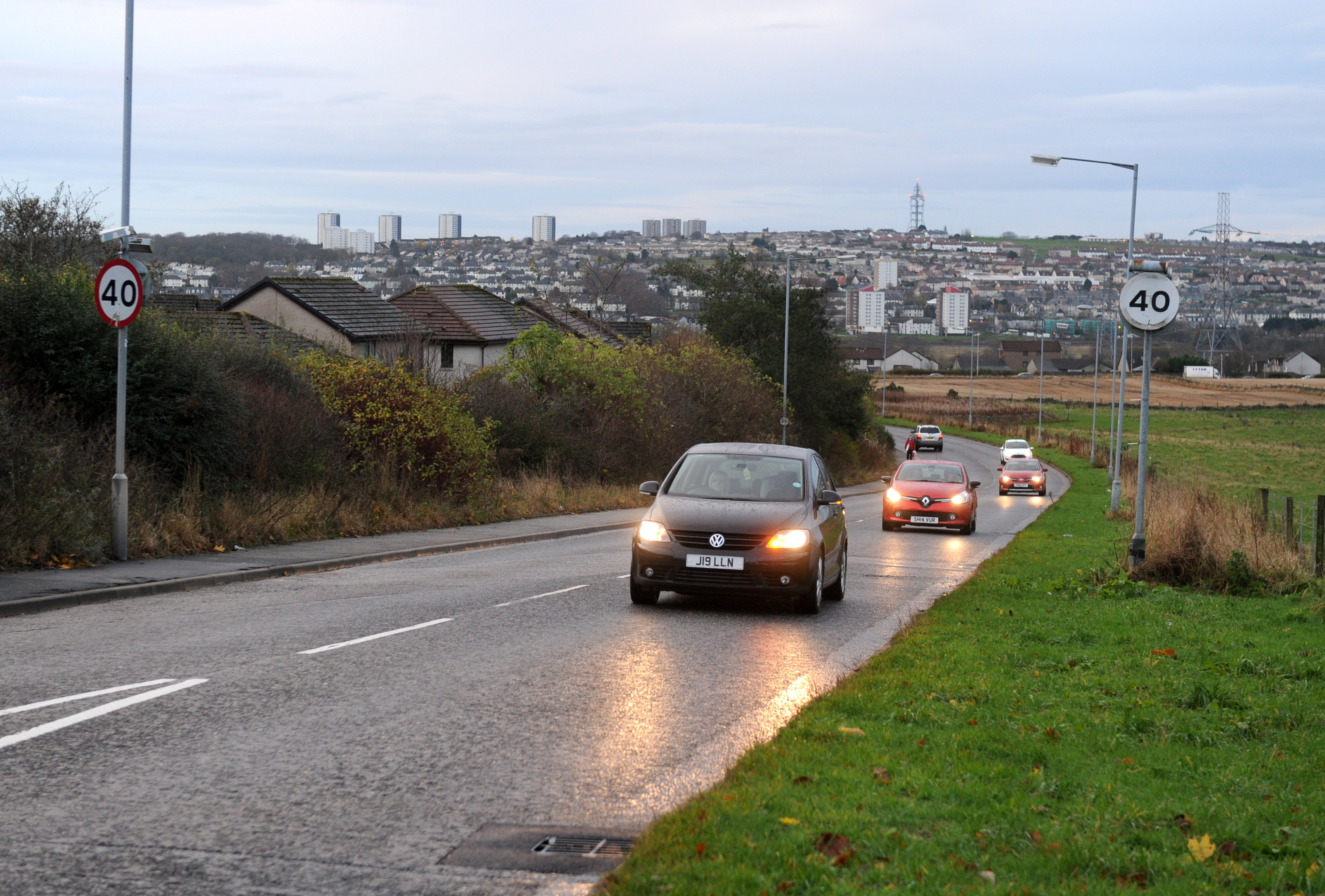 The speed limit could drop to 30mph on Whitestripes Road near the Whitestripes Avenue junction.