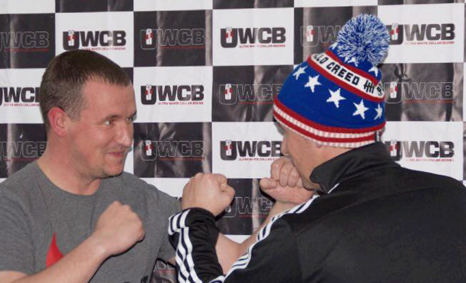 Geoff and Zander Thornton are to battle it out in the boxing ring.