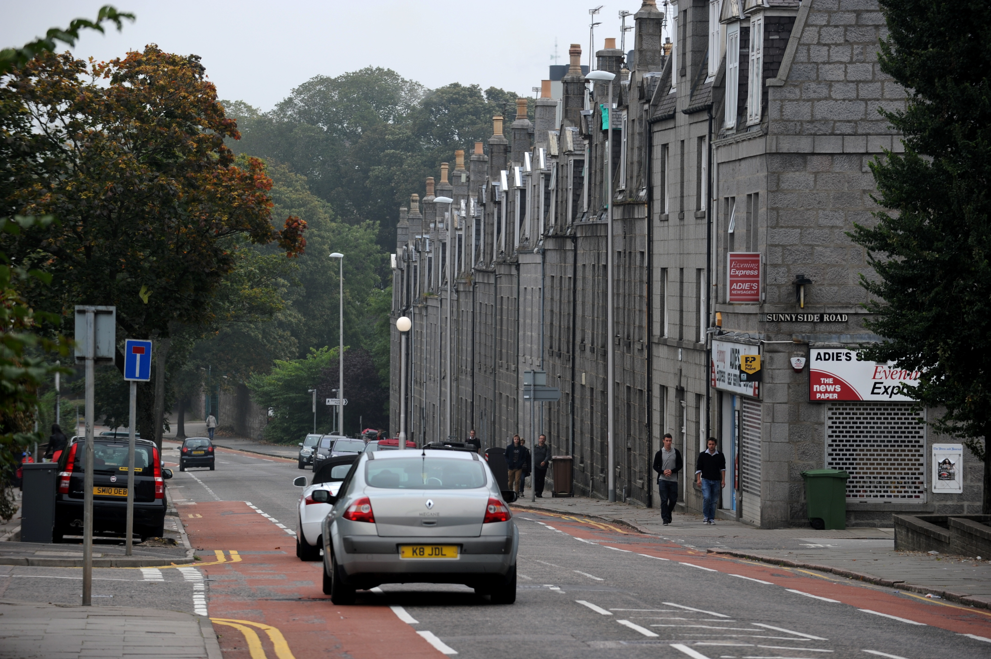 The bus gate will be introduced on Bedford Road in Aberdeen.