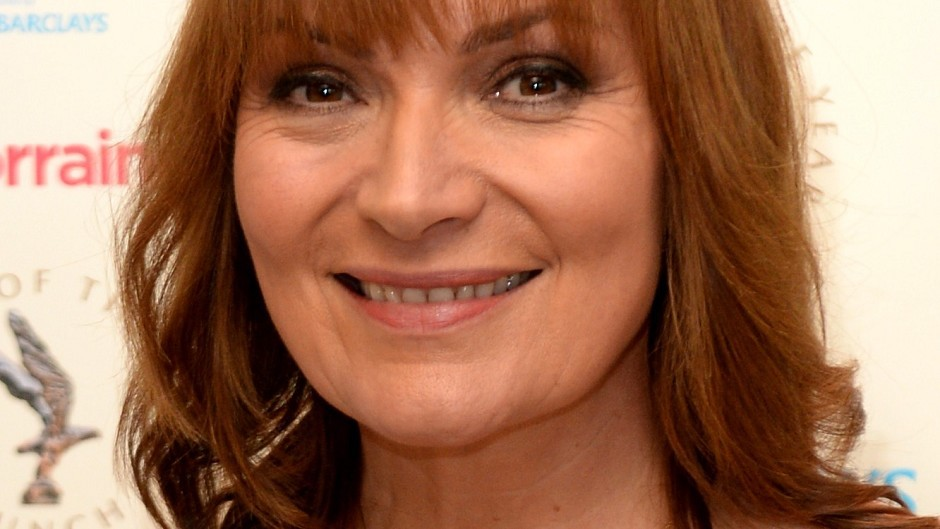 Lorraine Kelly broke down in tears during her Christmas Day show after her mother delivered a special festive message (Ian West/PA)