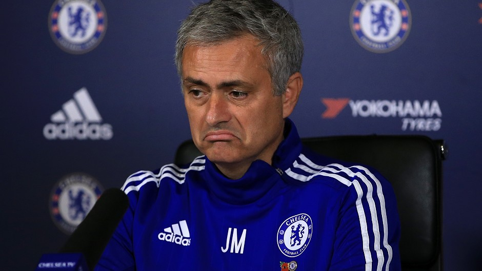 Chelsea manager Jose Mourinho has been sacked