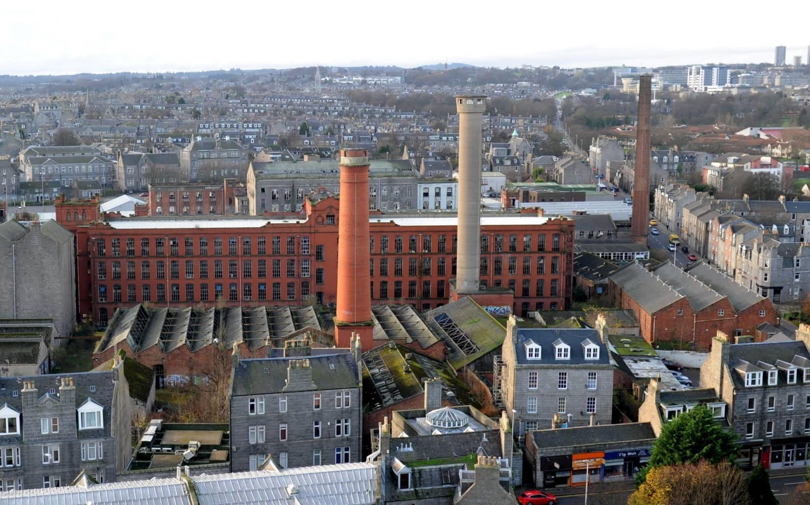 Broadford Works site in Aberdeen.