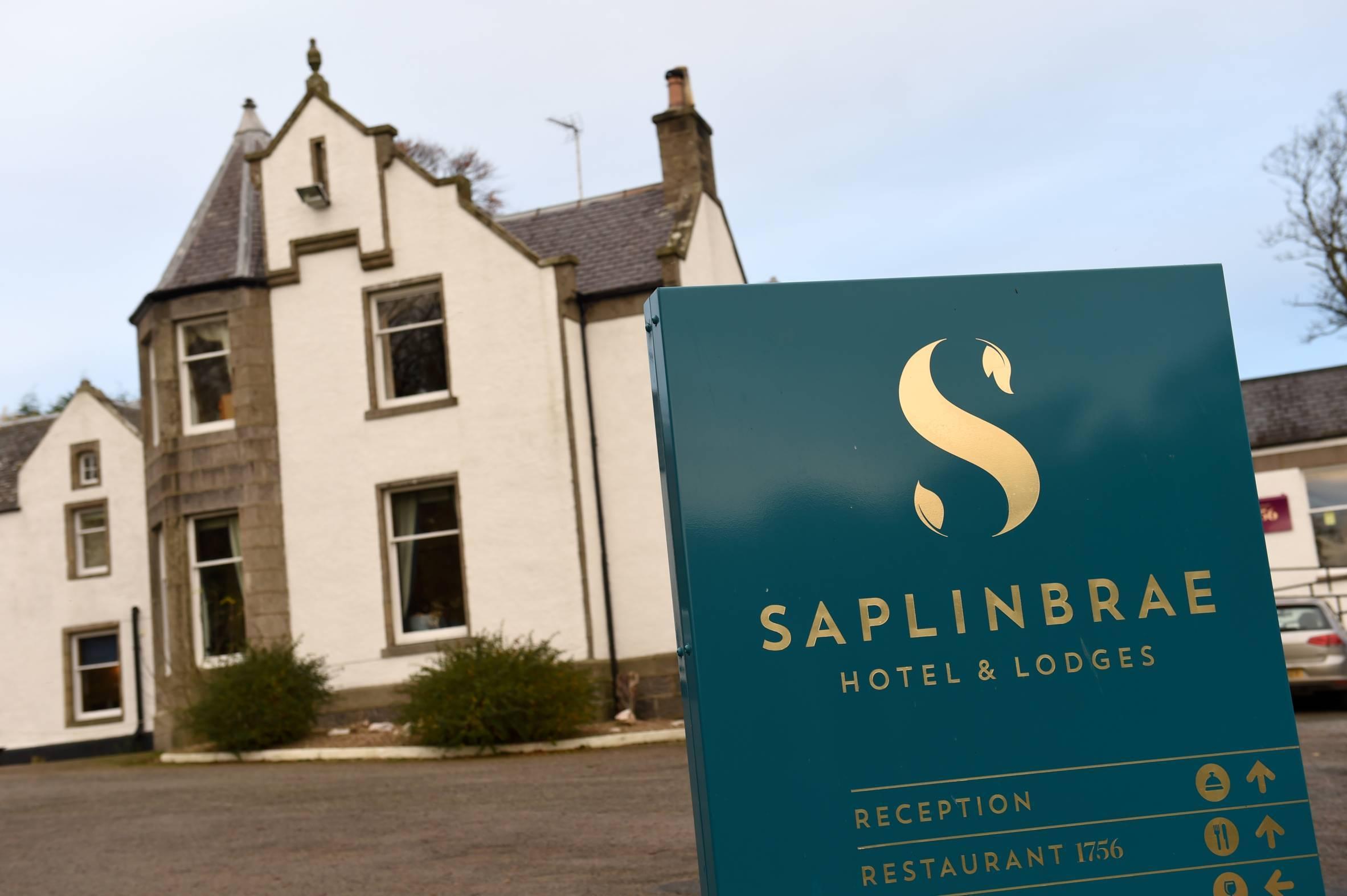 Saplinbrae Hotel near Mintlaw.