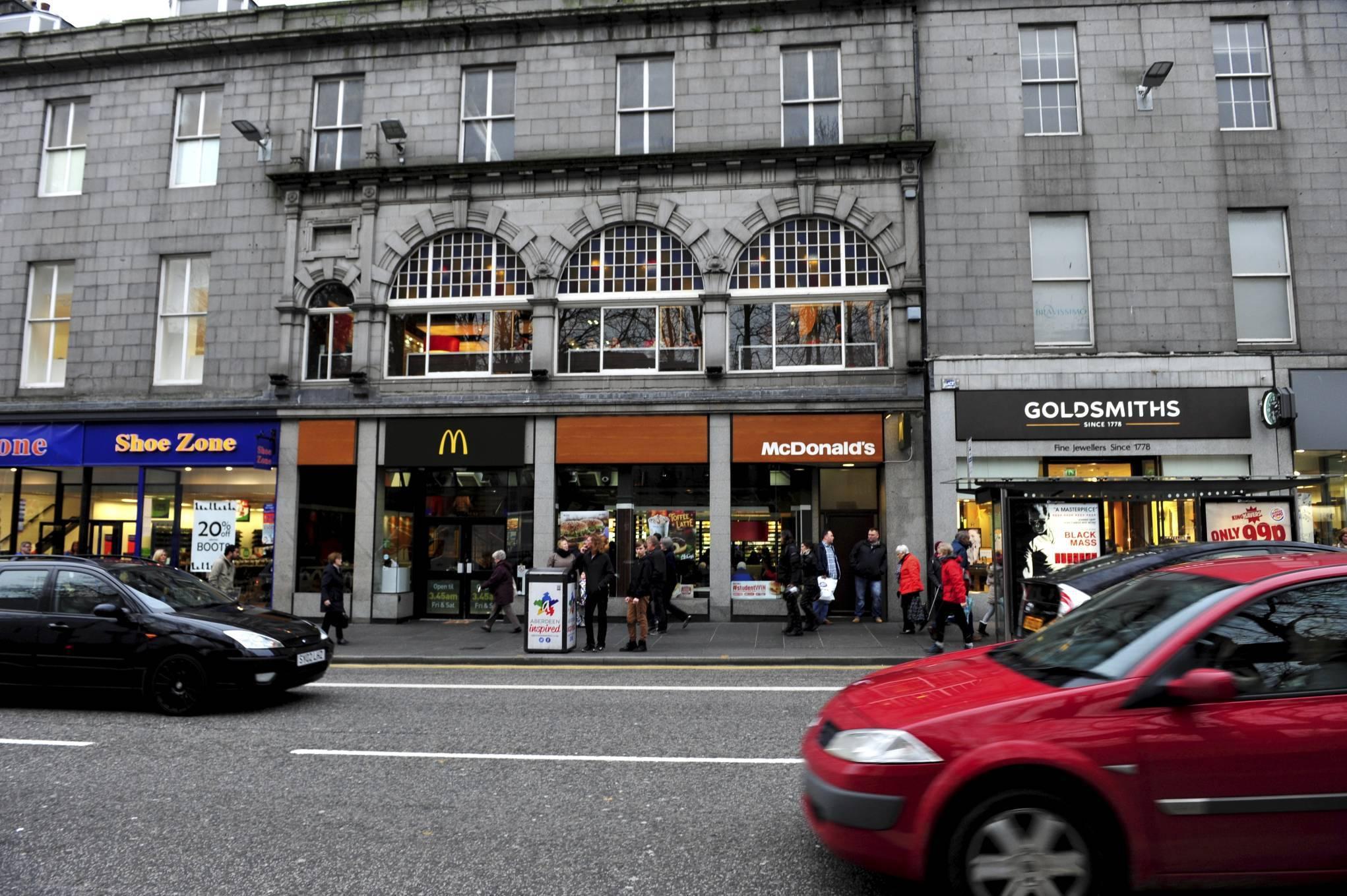 McDonald's on Union Street.