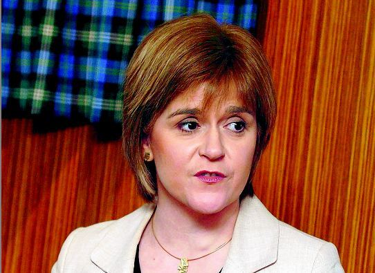 First Minister Nicola Sturgeon is to visit Aberdeen today.